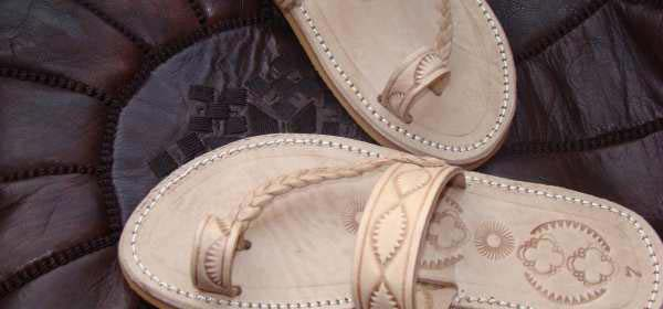 Handmade leather sandals for women and men