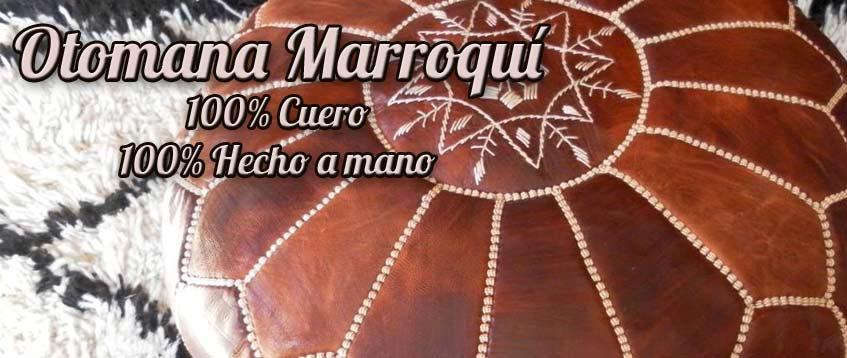 Puf marroquí Puf artesanía marroquí de venta en línea de Marruecos ...