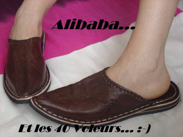 babouche-alibaba online sale of Alibaba slippers and aladdin babouches