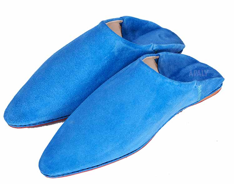 Suede Slippers Babouche | image 4