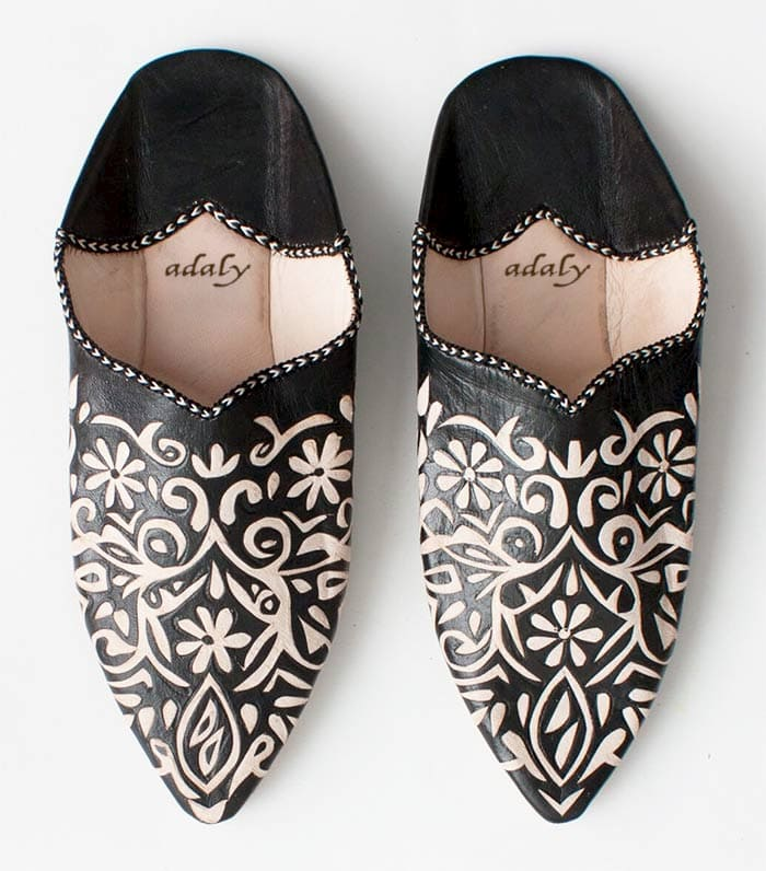 Engraved Slippers