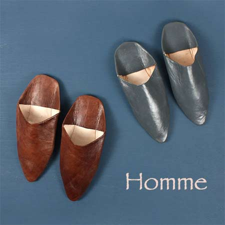 babouche homme