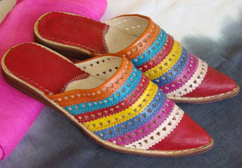 Maroc Slippers pointed