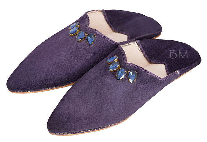 Sapphire Slippers