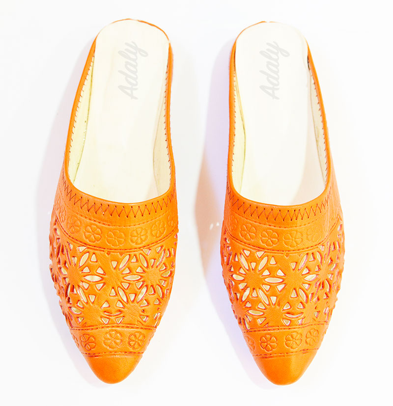 babouches-alice-orange-Alice Slippers Babouche