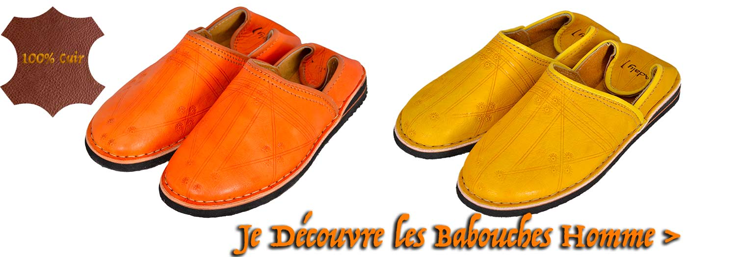 Babouche-homme
