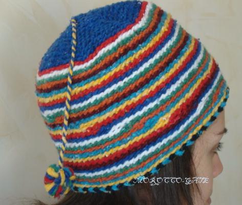 Bonnet Marocain en laine [bonnet,laine]