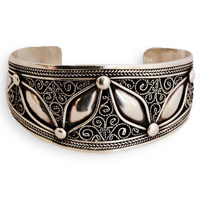 Bracelet argent homme maroc