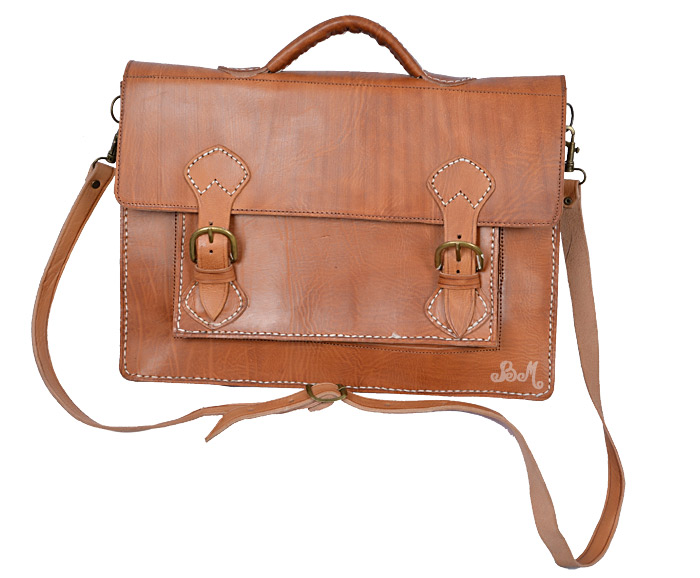 Cartable Cuir Vintage