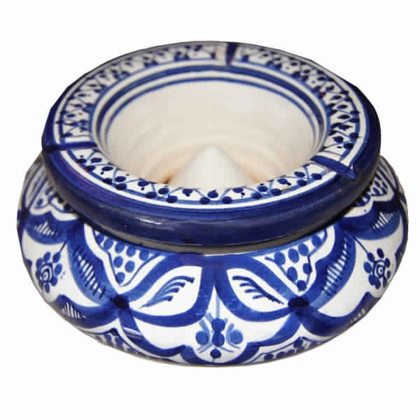 Blue Moroccan Ashtray