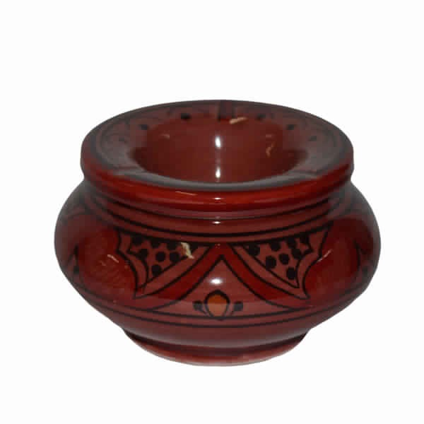 Brown Moroccan Ashtray