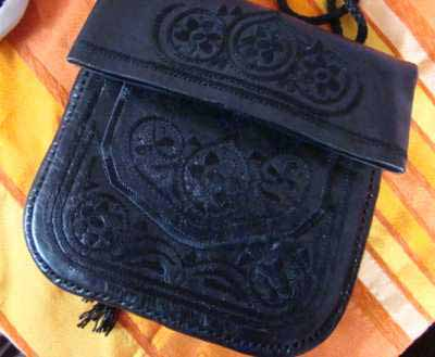 Black Chukkara Bag