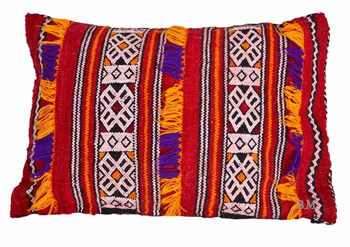 Berber Cushion Hadda Virgin Wool Hand Woven