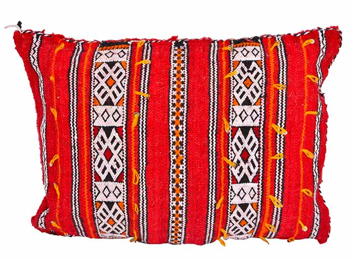 Berber Cushion Yttou Virgin Wool Hand Woven