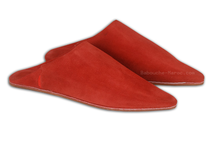 Suede Slippers Babouche