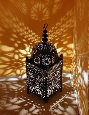 Moroccan lantern and Lighting