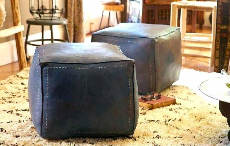 Enjoyable Moroccan Pouf Ottoman Moroccan Handmade Poufs Ottoman And Lamtechconsult Wood Chair Design Ideas Lamtechconsultcom