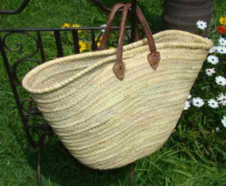Beach Wicker Basket