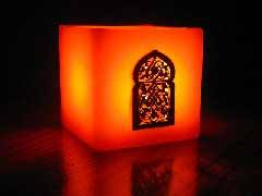 Moroccan candle Meknes