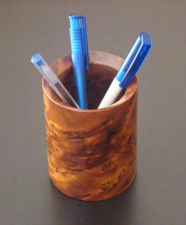 Pen holder in cedar