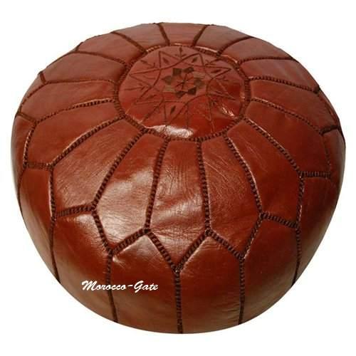 pouf marocain de marrakech s lection de poufs marocains. Black Bedroom Furniture Sets. Home Design Ideas