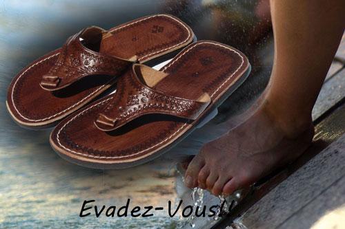 sandales tongs marocaine homme et femme vente de sandale marocaine babouche maroc com. Black Bedroom Furniture Sets. Home Design Ideas