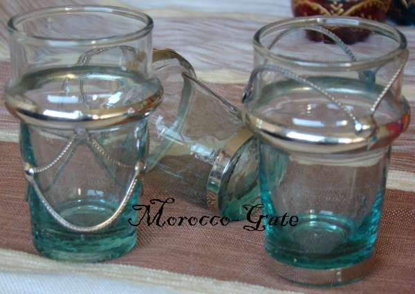 Morocco Tea glasses Helab