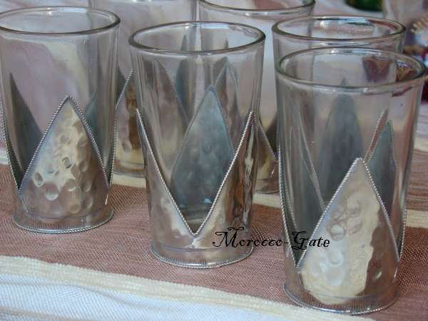 Morocco Tea glasses